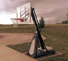 spalding 50 inch portable basketball system